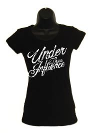 Ladies Black Script