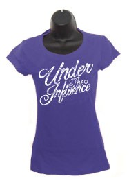 Ladies Purple Script
