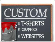 Under The Influence, Custom Silkscreen, Graphics, Web Design, T-Shirts, Stickers,!
